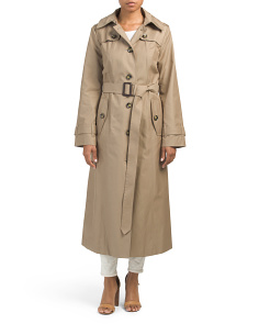 Long Wrap Trench Coat