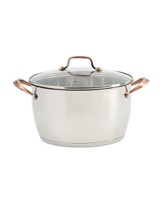 5.8qt Regency Stainless Steel Dutch Oven