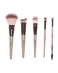 5pc Lavish Deluxe Face & Eye Brush Set