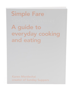Simple Fare Spring Summer Cook Book