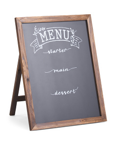 22x28 Bridal Menu Chalk Board