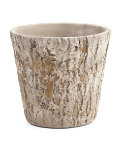 Weathered Oak Planter