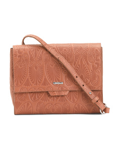 Denia Octavia Rfid Leather Crossbody