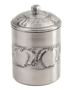 Made In India 4qt Stainless Steel Cookie Jar