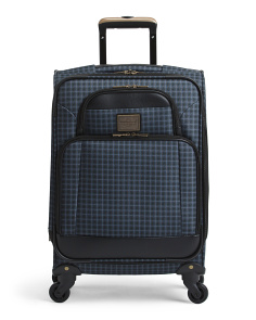 19in Vintage Softside Spinner Carry-on