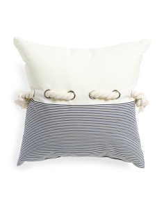 Indoor Outdoor Tie It Up Pillow