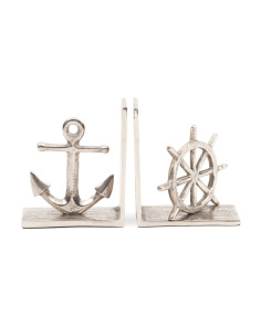 Made In India Set Of 2 Nautical Bookends