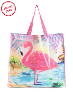 ac3e80e586d Flamingo Sparkle Reusable Bag