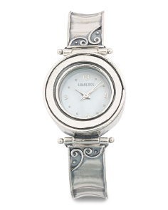 Women's Made In Israel Sterling Silver Watch