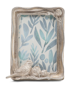 4x6 Bird Decorative Photo Frame