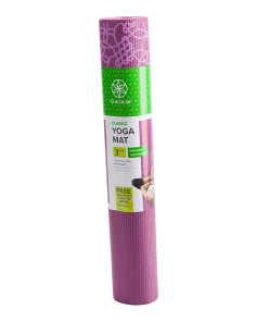 Medallion Yoga Mat