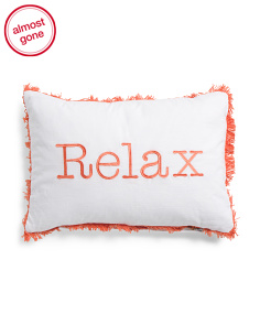 Made In India 14x20 Relax Pillow