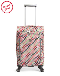 20in Tiles Upright Spinner Carry-on