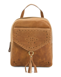 Glendale Distressed Leather Backpack