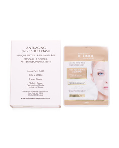 Made In Korea 6pk Anti-aging Retinol Sheet Mask