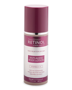 Retinol Body Lotion