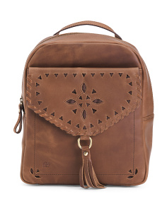Leather Glendale Distressed Backpack