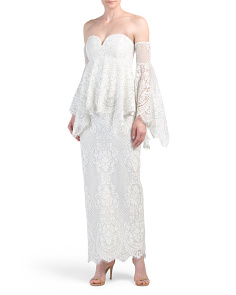 Lace Angel Maxi Dress