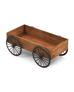 Wood Wagon Planter