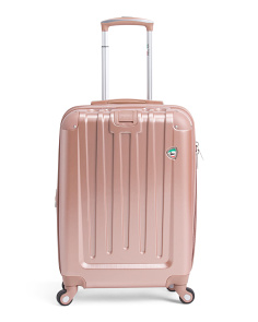 20in Abrased Finish Hardside Spinner Carry-on