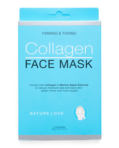 Made In Korea 5pc Collagen Masks