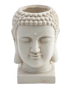Outdoor Clay Buddha Planter