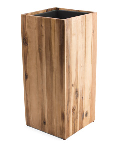 Outdoor Wood Planter