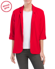 Juniors Oversized Blazer