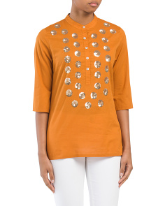 Jasmine Sequin Tunic