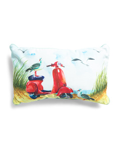 14x24 Indoor Outdoor Vespa Pillow