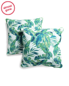 20x20 2pk Indoor Outdoor Rio Palms Pillow