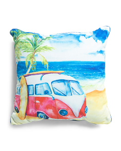 20x20 Indoor Outdoor Beach Van Pillow
