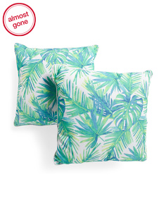 20x20 2pk Indoor Outdoor Bali Pillows