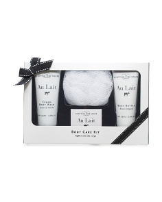 3pk Au Lait Body Collection Gift Set