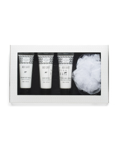 4pc Au Lait Luxe Bath & Body Gift Set