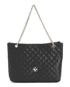 Skylar Quilted Tote