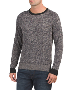 Made In Italy Linen Blend Collins Sweater