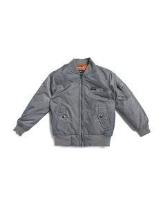 Big Boys Quilted Bomber Jacket