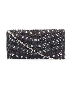 Diamond Pattern Gem Clutch