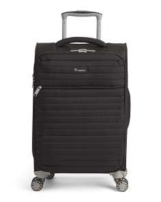 21in Quilted Softside Carry-on Spinner