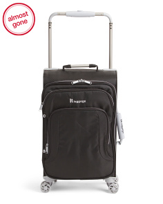 21in Softside Carry-on Spinner