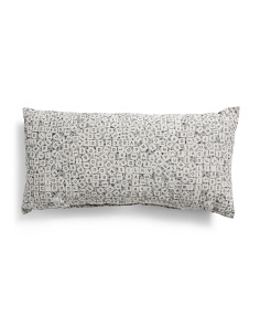Made In USA 14x26 Scrabble Pillow