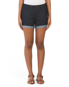 Roll Denim Shorts
