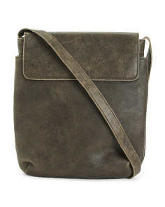 Beck Flap Leather Crossbody
