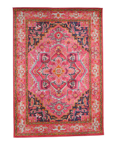 Made In Turkey Bohemian Style Area Rug