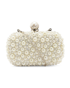 Large Pearl Clutch