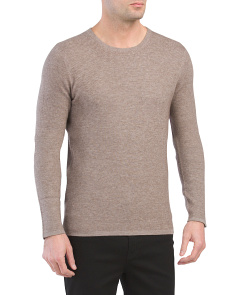 Oval Thermal Wool Blend Sweater