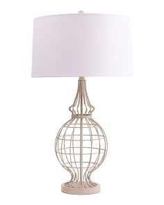 33in Open Metal Table Lamp