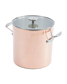 Made In France 6.3qt Copper Stewpan