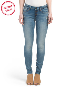 Jennie Curvy Exposed Button Fly Jeans